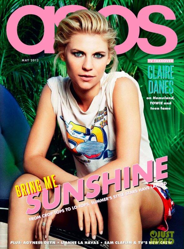 Claire Danes pose pour Asos.