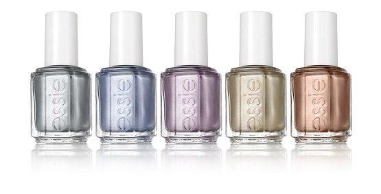 Tuto manucure à poids (source : Madmoizelle.com) + Essie lance une collection Mirror Metallics.