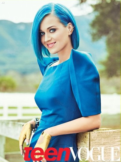 Katy Perry pose pour Teen Vogue.