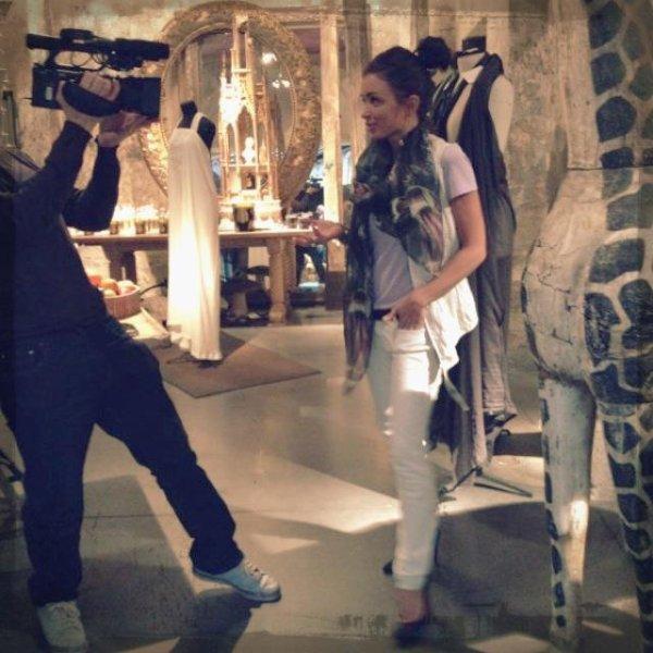 Jenifer dans l'émission La Mode, La Mode, La Mode.
