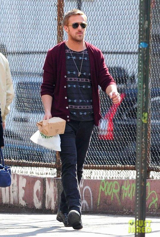 Ryan Gosling de sortie. New York