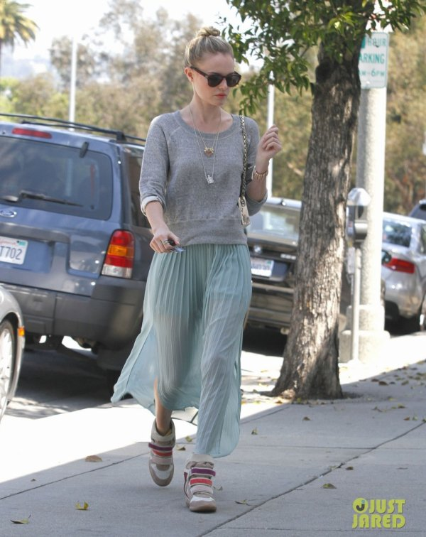 Kate Bosworth de sortie. Beverly Hills