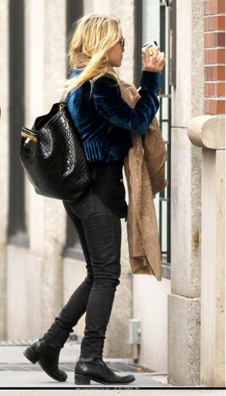 Mary Kate Olsen de sortie. New York