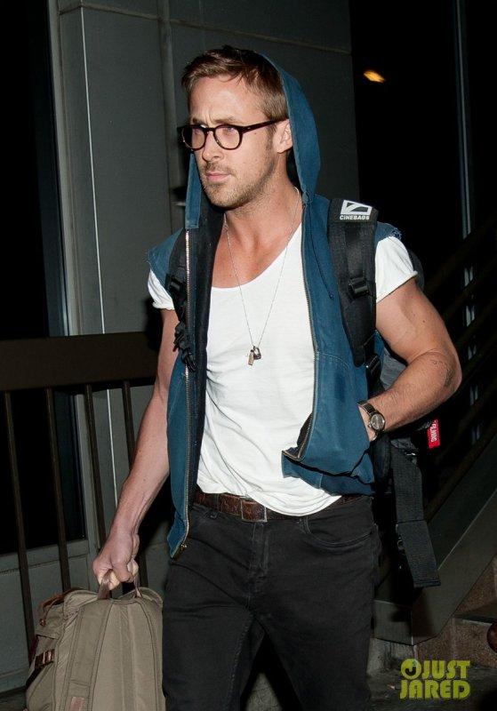 Ryan Gosling à l'aéroport LAX. Los Angeles