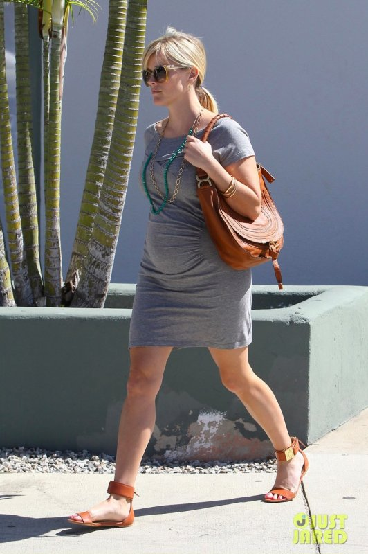 Reese Witherspoon de sortie.