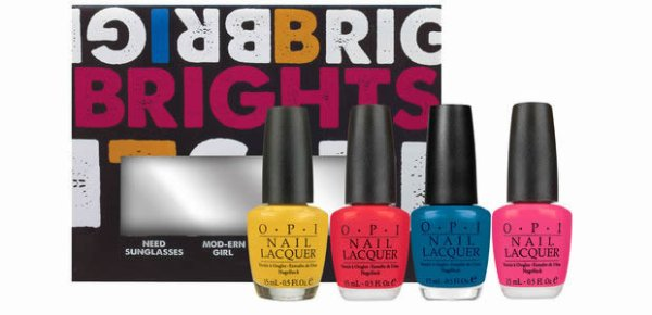 O.P.I  Collection Brights