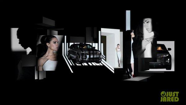 Victoria Beckham fait la pub pour Range Rover.