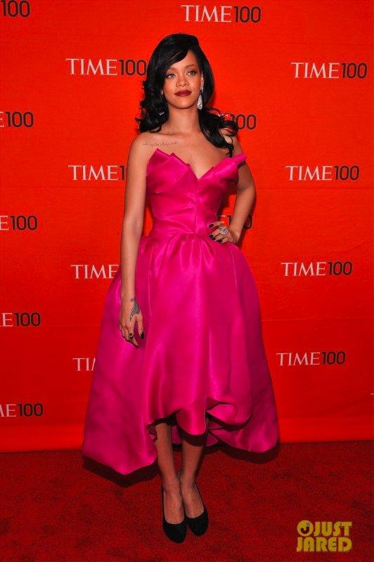Rihanna à un évènement. New York