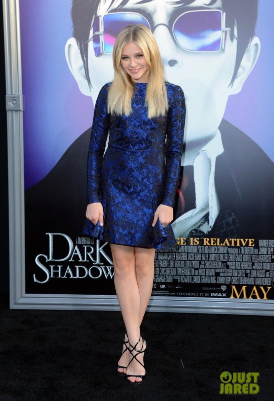Première du film Dark Shadows. Hollywood