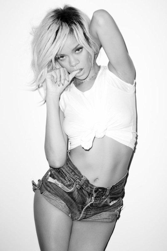 Rihanna photographiée par Terry Richardson.