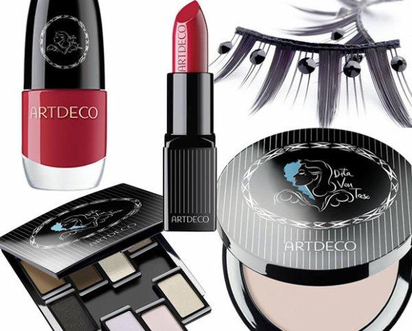 Dita Von Teese lance sa ligne de maquillage avec Art Deco