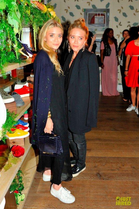 Les soeurs Olsen à des évènements.