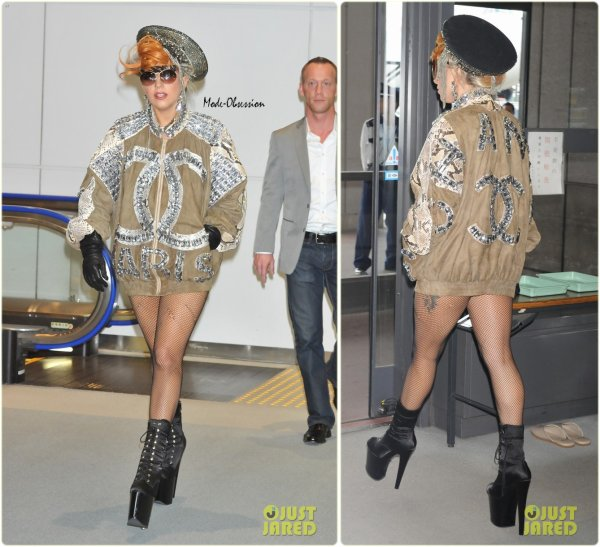 Lady Gaga de sortie. Tokyo