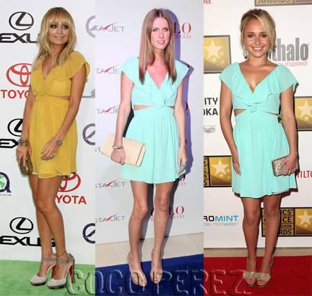 Qui porte le mieux la robe Keepsake ?