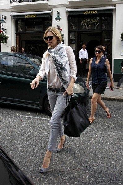 Kate Moss de sortie.