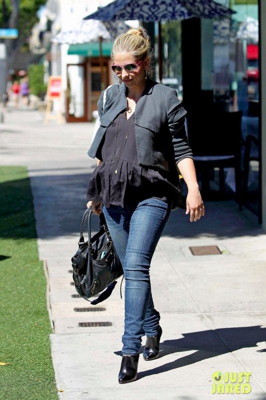 Sarah Michelle Gellar de sortie.