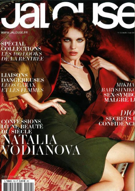 Natalia Vodianova pose pour Jalouse.