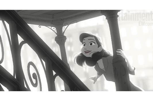 Disney  Paperman