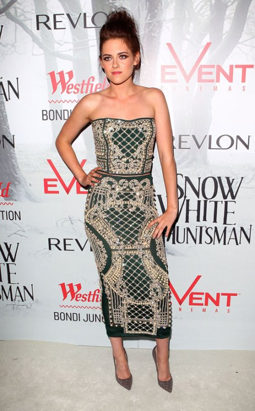 Kristen Stewart à l'avant-première de Blanche Neige. Australie