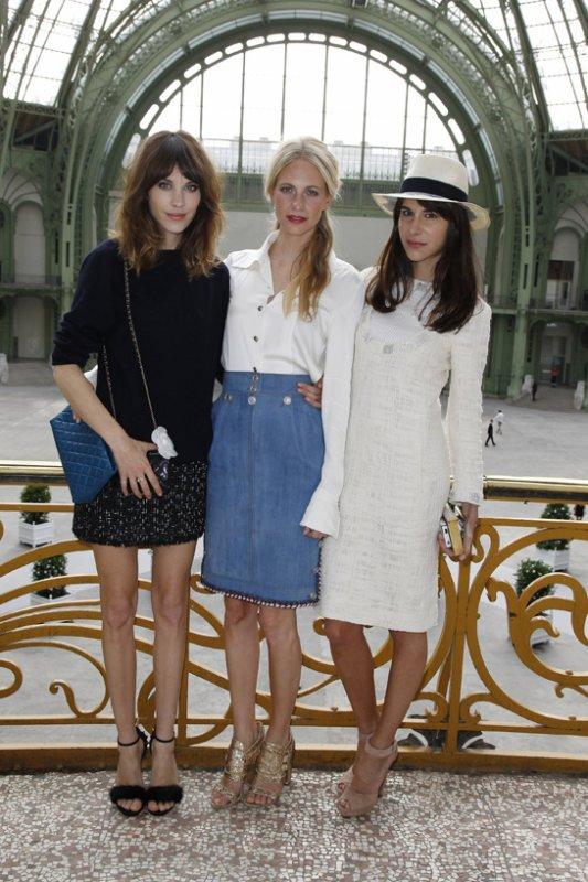 DÉFILÉS COUTURE AUTOMNE-HIVER 2012-2013  Chanel / Les invités
