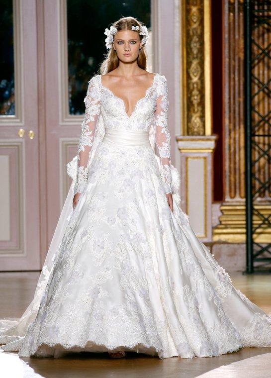 Les robes de mariée de la haute couture