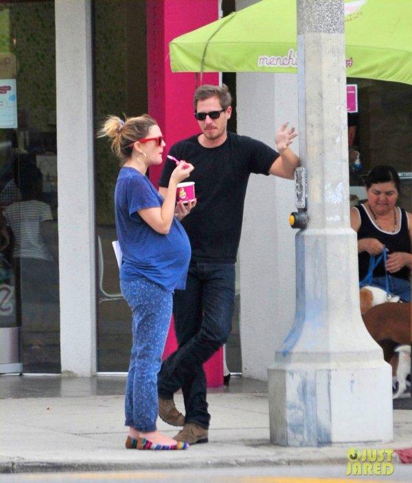 Drew Barrymore de sortie avec son mari. Los Angeles