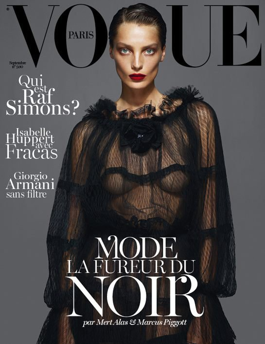 Vogue Paris  septembre