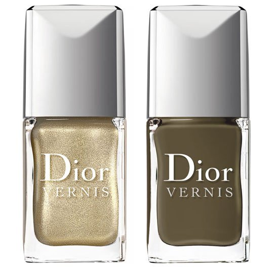 Vernis Dior Golden Jungle source : Vogue.fr