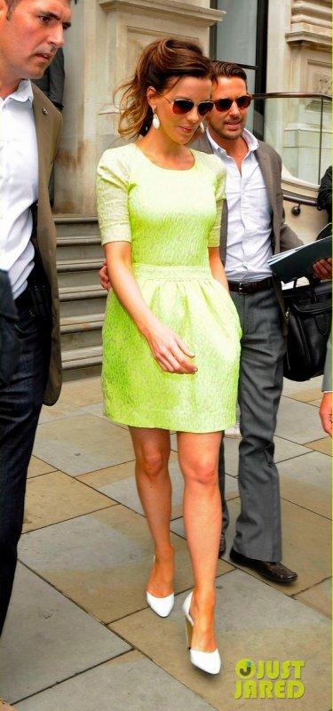 Kate Beckinsale fait la promo de Total Recall. Londres