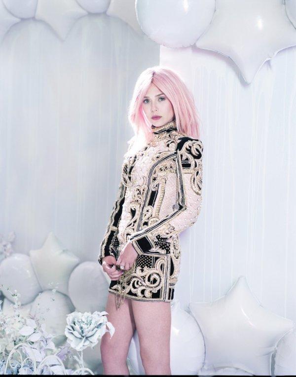 Elizabeth Olsen pose pour le magasine Bullet.