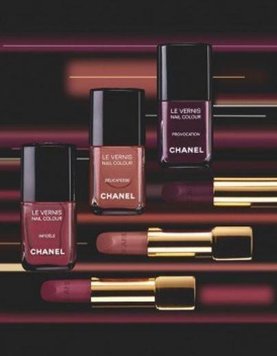 Make-up et « Twin-sets » inédits chez Chanel pour la rentrée source : elle.fr