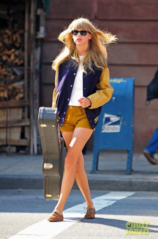 Taylor Swift de sortie. New York