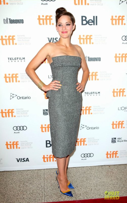 Marion Cotillard à un évènement au Canada. 2012 Toronto International Film Festival