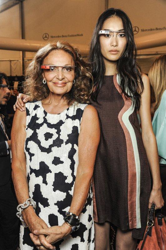 DÉFILÉS PRÊT-À-PORTER PRINTEMPS/ÉTÉ 2013  Diane Von Furstenberg : Backstages