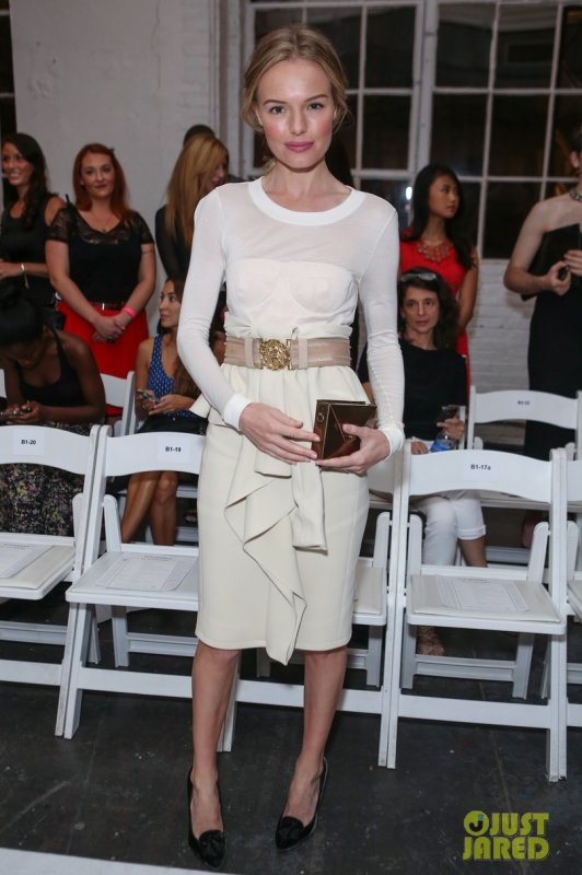 Kate Bosworth au défilé Altuzarra. New York