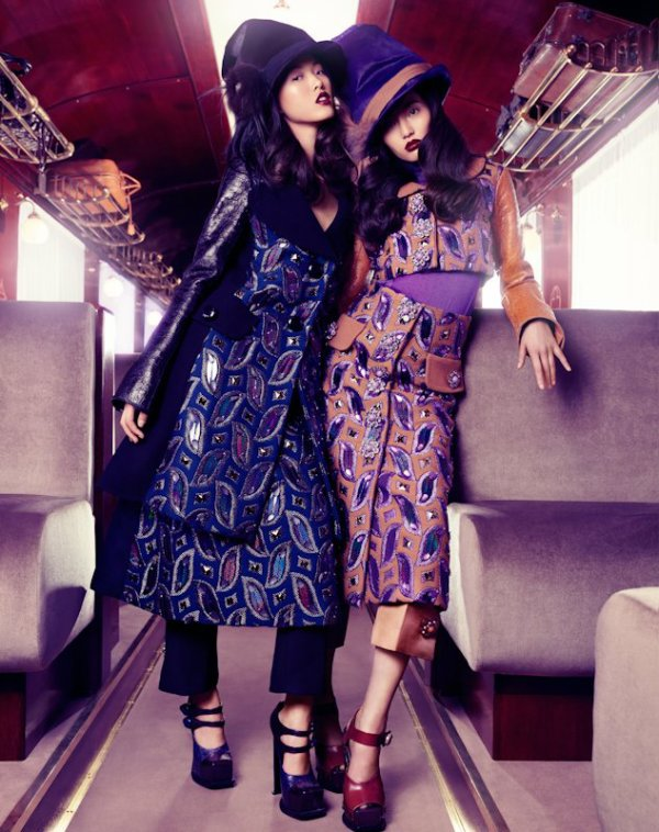 Louis Vuitton dans le Vogue Chine.