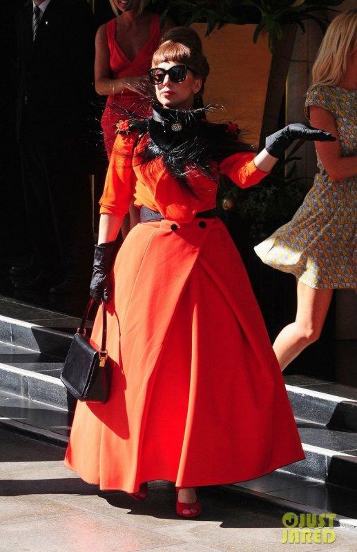 Lady Gaga de sortie. Londres