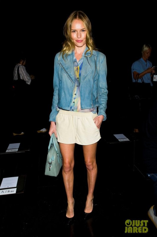 Kate Bosworth au défilé Theysken's Theory. New York