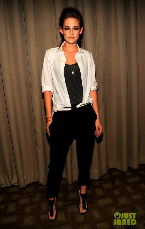 Kristen Stewart à un évènement. New York