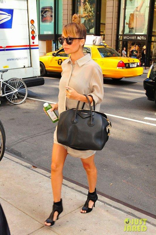 Nicole Richie de sortie. New York