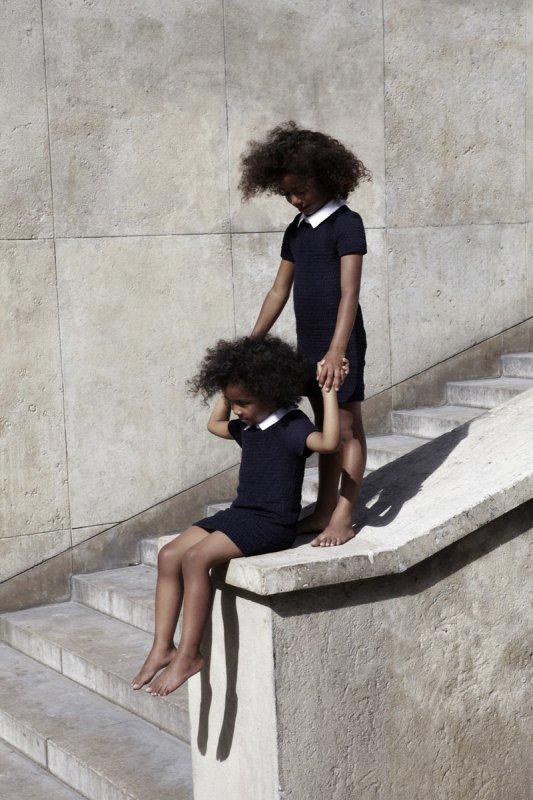 Carven et Petit Bateau lancent une collection capsule. source : Vogue.fr