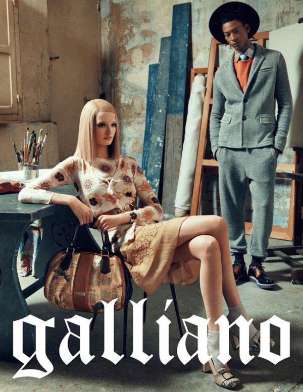 John Galliano  automne / hiver 2012-2013