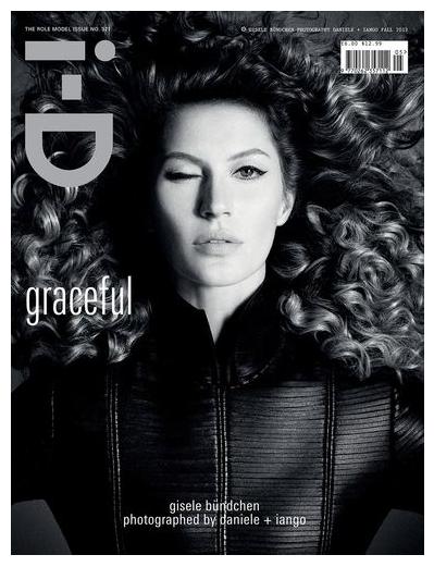 Gisele Bundchen pose pour I-D magazine.