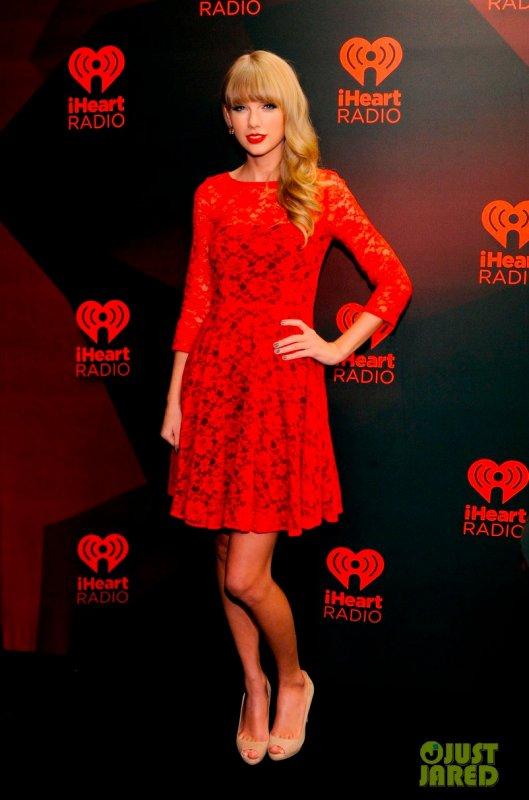 Taylor Swift à un évènement Las Vegas. 2012 iHeartRadio Music Festival