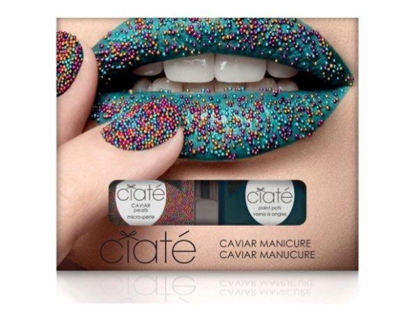 Manucure caviar de Ciaté