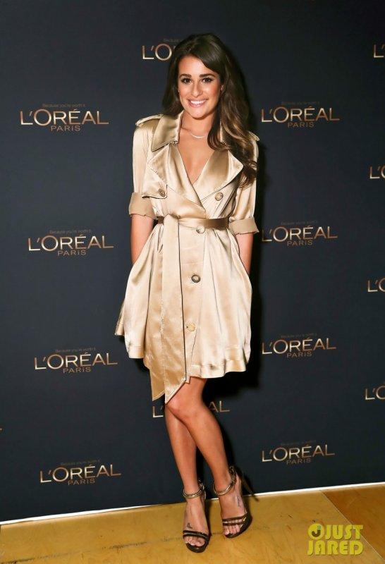 Lea Michele est la nouvelle égérie de L'Oréal.