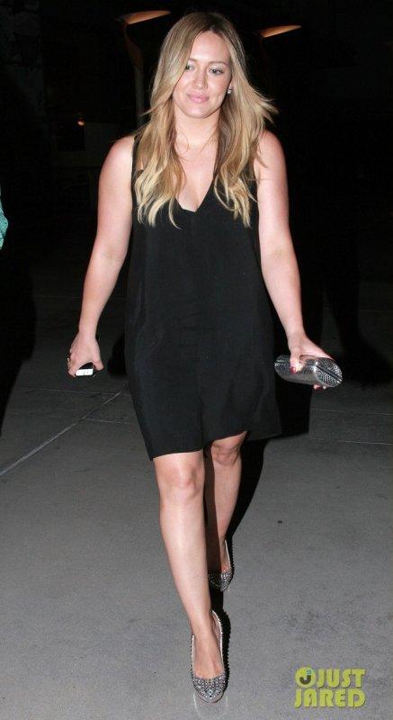 Hilary Duff de sortie. Hollywood