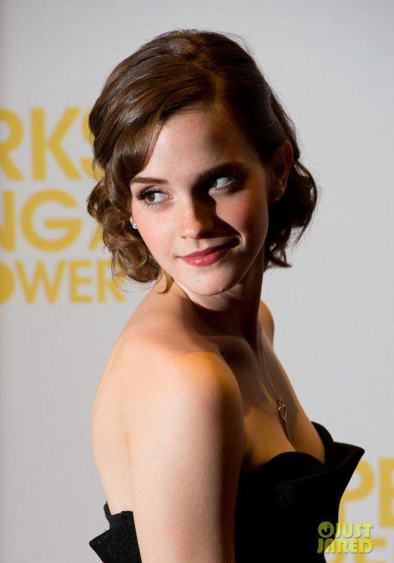 Emma Watson à un évènement. Londres