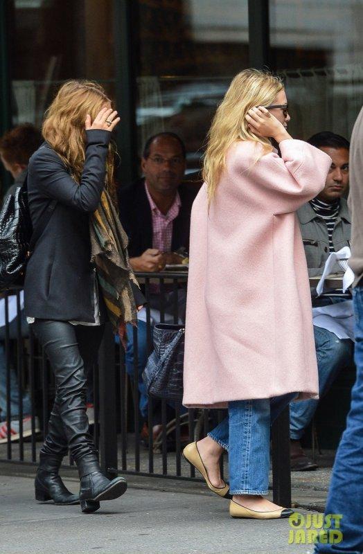 Les soeurs Olsen de sortie.
