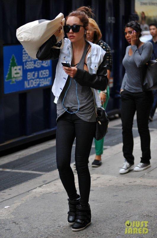 Amanda Bynes de sortie.